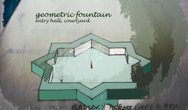 geometric fountain