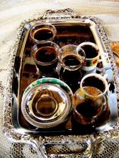 Coffee served at the Guesthouse of Shaykh Nazim al-Haqani ar-Rabbani