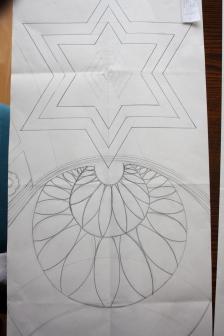 Samia refined the design as she drew