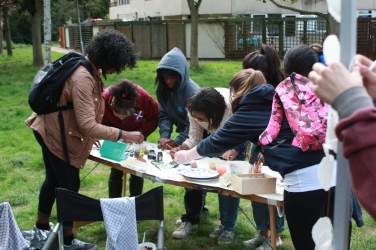 Community art workshops