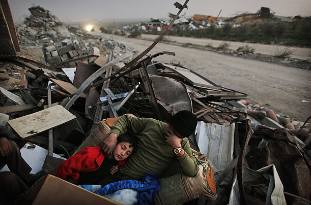 "Kevin Frayer, AP, from Time , ""Gaza Digs Out"""